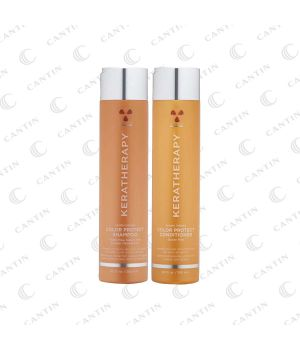 """DUO SHAMPOING/REVITALISANT """"COLOR"""" KERATHERAPY 300 ML"""
